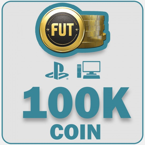 Fifa 22  100K Coins  | PC, PS4, PS5