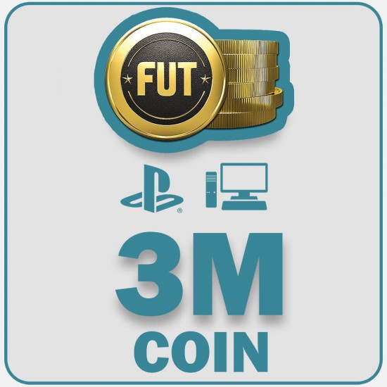 Fifa 22  3M Coins  | PC, PS4, PS5